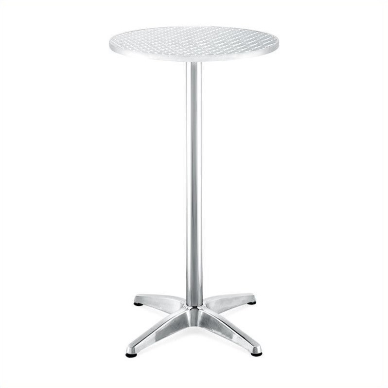 Zuo Outdoor Christabel Aluminum Bar Table