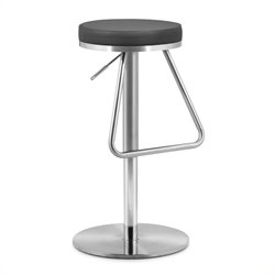 Zuo Soda Barstool in Black