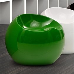 Zuo Drop Stool in Green