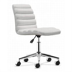 Zuo Admire Office Chair in White