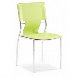 Zuo Trafico  Dining Chair in Green