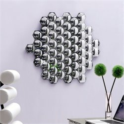 Zuo Honeycomb Mirror in Clear