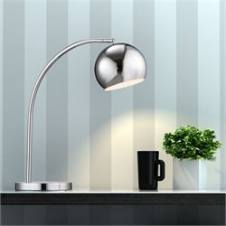 Zuo Solaris Table Lamp in Chrome