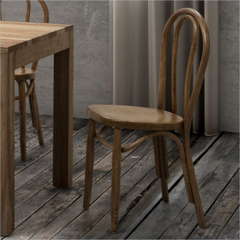 Zuo Nob Hill Dining Chair in Natural