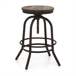 Twin Peaks Backless Barstool Height