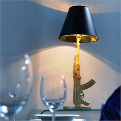 Zuo Artemis Table Lamp in Gold