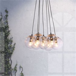 Zuo Decadence Ceiling Lamp in Clear