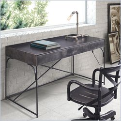 Zuo Potrero Hill Desk in Distressed Black