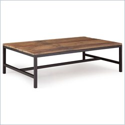 Zuo Elliot Coffee Table in Distressed Natural