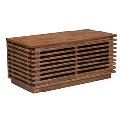 Zuo Linea Small Console in Walnut
