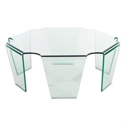 Zuo Circuit Coffee Table in Clear