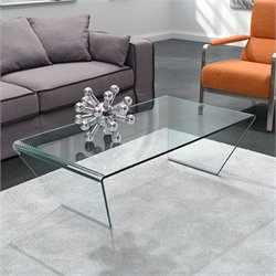 Zuo Migration Coffee Table in Clear