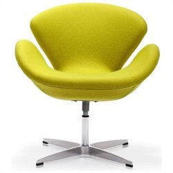 Zuo Pori Armchair in Pistachio Green