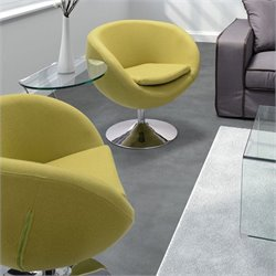 Zuo Lund Armchair in Pistachio Green