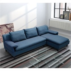 Zuo Axiom Sofa Cowboy in Blue
