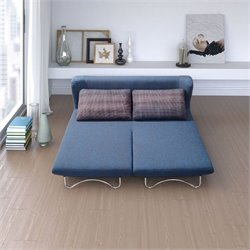 Zuo Conic Sofa Sleeper in Blue