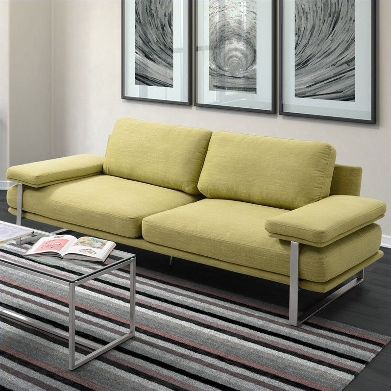 Zuo Jonkoping Sofa in Lime