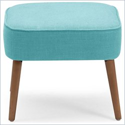 Zuo Buckeye Stool in Aqua