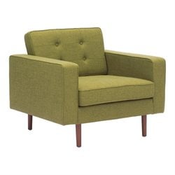 Zuo Puget Armchair in Green