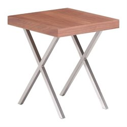 Zuo Renmen End Table in Walnut