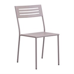 Zuo Wald Patio Dining Chair in Taupe