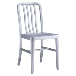 Zuo Gastro Patio Dining Chair in Gray