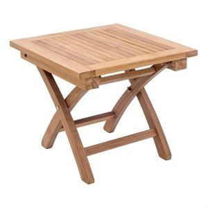 Zuo Starboard Square Outdoor End Table