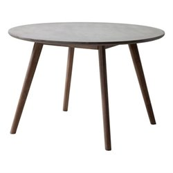Zuo Elite Patio Dining Table in Cement