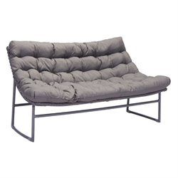 Zuo Ingonish Beach Outdoor Sofa in Gray