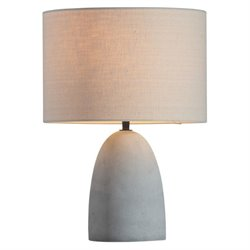 Zuo Vigor Table Lamp in Beige and Concrete
