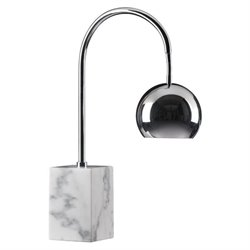 Zuo Run Marble Table Lamp in Chrome