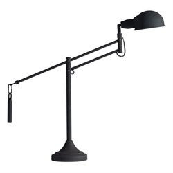 Zuo Skip Metal Table Lamp in Black