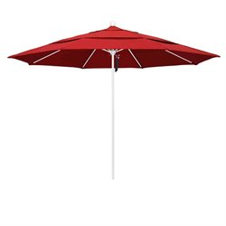 11' White Market Umbrella