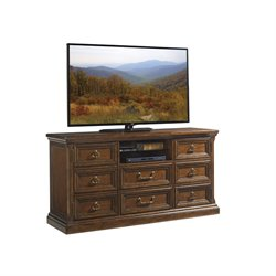 Lexington Coventry Hills Provincetown TV Stand in Autumn Brown