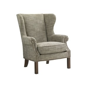 Lexington Coventry Hills Logan Wingback Accent Chair in Oakhurst