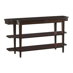 Lexington Kensington Place Blakeney Console Table in Rich Oxford Brown