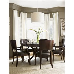 Lexington Kensington Place Beverly 6 Piece Dining Set in Brown