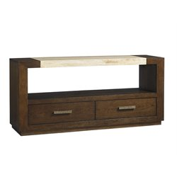 Lexington Laurel Canyon Estrada Console Table in Mocha