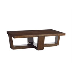 Lexington Laurel Canyon Esplanade Rectangular Coffee Table in Mocha