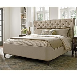 MacArthur Park Mulholland Upholstered Bed in Ivory