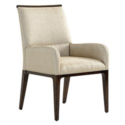 Lexington MacArthur Park Collina Upholstered Dining Chair in Wheat