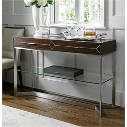 Lexington MacArthur Park Loring Steel Console Table in Brown