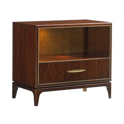 Lexington Take Five Wayland Nightstand in Rosewood