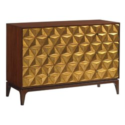 Lexington Take Five Broadway Hill 3 Drawer Accent Chest in Hazelnut