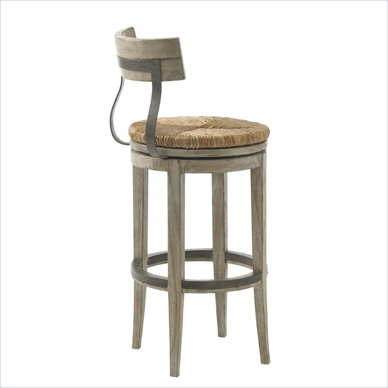 Lexington Twilight Bay Dalton Bar Stool In Driftwood 352