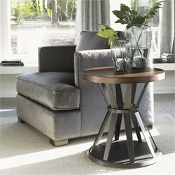 Lexington 11 South Profile Lamp Table in Chestnut Brown