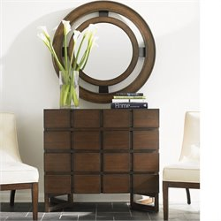 Lexington 11 South Cassina Hall Accent Chest in Accent Chestnut Brown