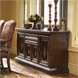 Lexington Fieldale Lodge Glenwood Buffet in Distressed Brown Mahogany