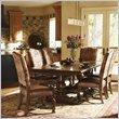 Lexington Fieldale Lodge Silverton Rectangular Dining Table in Brown Mahogany