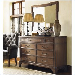 Lexington Quail Hollow Marion Dresser in Wellington Finish